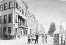 1978-2983 Gezicht op het sociëteitsgebouw van de Maatschappij tot Nut der Zeevaart en de Rotterdamse Telegraaf ...