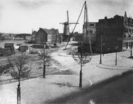 1980-1729 Noordschans vanaf de Schiedamseweg in de richting molen op de Mathenesserdijk.
