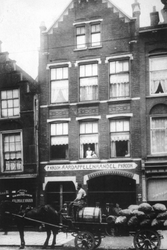 1980-340 Aardappelhandel van P. Kroon aan de Gedempte Botersloot.