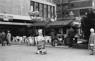 1985-416 Coffeeshop Vlasmarkt aan de Vlasmarkt - Hoogstraat.