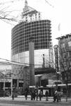1987-343 Bouw van het World Trade Center aan het Beursplein, gezien vanaf de Coolsingel.