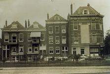 1987-644 Noordzijde Boezemsingel 41-49 hoek Boezemstraat Gebouw van A.I. de Vries & Zonen, nr. 41. Op de hoek nummer 49 ...