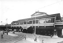 1988-2872 Gezicht op Station Beurs aan het Beursplein.