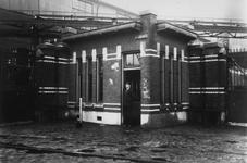 1992-2943 Sint-Jobsweg, het portiershuisje van de Centrale Schiehaven aan de Edisonstraat, later genaamd Lloydstraat ...