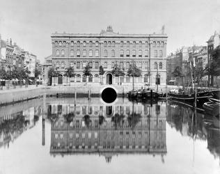 IV-21-504 De Blaak en het postkantoor aan het Beursplein.