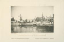 IV-54-5 'Album van Rotterdam, 2e serie . Het Boerengat met de Admiraliteitskade.