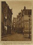 IX-1132 De Halvemaanstraat, kort voor de sloop van de panden.