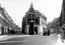 IX-1876-02 Gezicht in de Sint-Mariastraat (links) en de Gaffelstraat (rechts).