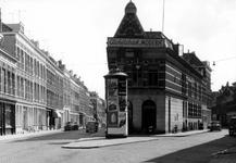 IX-1876-04 Gezicht in de Sint-Mariastraat (links) en de Gaffelstraat (rechts).