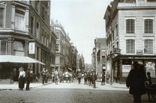 IX-1933-1 De Meent, op de voorgrond de Gedempte Binnenrotte.