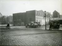 IX-1940-2 De Meent, links de hoek Vierwindenstraat - Zandstraat.