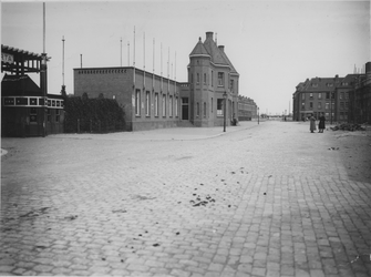 IX-2983 Gezicht in de Spartastraat.