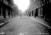 IX-785 Gezicht in de Drievriendenstraat.