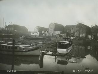 VII-159 Gezicht op de Buizenwaal, uit het noordoosten.