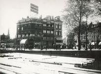 VIII-133-01 De hoek Coolsingel (pand nr. 1)- Slagveld-Diergaardelaan-Stationsweg (rechts).
