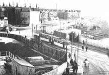 X-157-01 De bouw van de Lage Erfbrug over de Coolhaven.