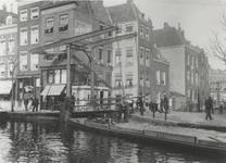 X-241-02-03 De Stokvisbrug bij de hoek Stokvisverlaat - Delftsevaart.