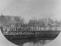 XIV-106 Lege veemarkt op het Hofplein.Op de voorgrond de Schiekolk.