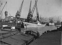 XIV-330-01 Thomsen's Havenbedrijf aan de Lekhaven.