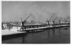XIV-398-04-00-10-2 Loodsen van Wambersie & Zoon op pier 1 aan de Waalhaven. Uit het noordoosten gezien.