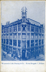 XIV-449-01 Warenhuis Cohn Donnay & Co aan de Korte Hoogstraat.