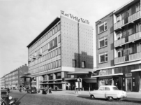 XV-237-09 Het gebouw van het dagblad 'Het Vrije Volk' aan de Slaak.
