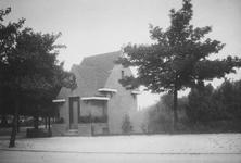 XV-63 Het transformatorhuisje aan de Heemraadssingel bij de Rochussenstraat.