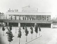 XVII-26 Gezicht op Station Beurs aan het Beursplein.