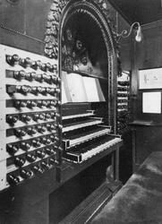 XVIII-129-01-1-TM-6 Het orgel van de Sint-Laurenskerk.Van boven naar beneden afgebeeld:- 1- 2- 3- 4- 5- 6