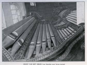 XVIII-129-01-11-TM-16 Het orgel van de Sint-Laurenskerk.Van boven naar beneden afgebeeld:- 11- 12- 13- 14- 15- 16