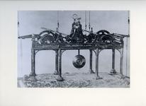 XVIII-146 Uurwerk van de klok van de Sint-Laurenskerk.