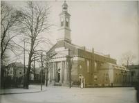 XVIII-167 De Hervormde kerk aan de Hoflaan, nabij de Oudedijk.