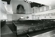 XVIII-208-01-00-02 Interieur Gereformeerde Breepleinkerk na restauratie aan het Breeplein.