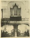 XVIII-211-01-01 Het orgel in de Gereformeerde kerk in de Hoveniersstraat.