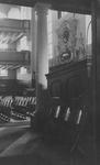 XVIII-294-00-01-2 Een klok in de Lutherse kerk aan de Wolfshoek.
