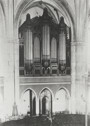 XVIII-33-03 Het orgel van de Zuiderkerk aan de Gedempte Glashaven.