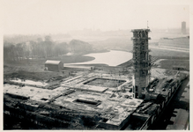 XXI-53 Museum Boymans in aanbouw aan de Mathenesserlaan.