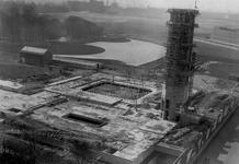 XXI-54 Museum Boymans in aanbouw aan de Mathenesserlaan.
