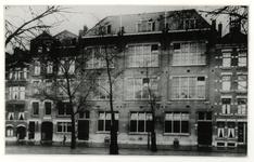 XXII-73 Diaconieschool van de Nederlandse Hervormde Gemeente aan de Goudserijweg en Vlietkade.