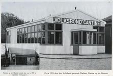 XXIV-74-01-8 De Volksbondkantine voor abattoirpersoneel geopend in 1934.