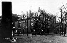 XXV-225-01 Gezicht op de 's-Gravendijkwal, hoek van de Schietbaanlaan.