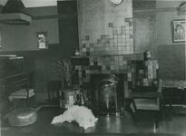 XXV-302-1-TM-3 Interieur van het Tehuis voor Vrouwen aan het Haringvliet.Van boven naar beneden afgebeeld:- 1- 2- 3