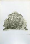 XXV-385 Gevelsteen van de Kortewagenstraat pand 25. Na de sloop van het pand is de gevelsteen bewaard in het Museum van ...