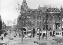 XXV-93 Gezicht op de hoek Boompjes - Rederijstraat.