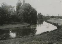 XXVII-8 Gezicht op de begraafplaats Crooswijk aan de Kerkhoflaan. Op de achtergrond de uitbreiding uit het oosten.