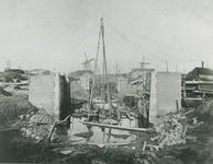 XXXI-116-1 Schiemond. De Ruigeplaatsluis in aanbouw in de Ruigeplaat.
