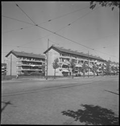 2058 Woningen aan de Bentincklaan.