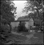 4055 Een noodwoning aan de Charloisse Lagedijk.