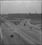 939 Mijnsherenlaan met op de achtergrond de Dordtselaan. Links wordt er aan de weg gewerkt.