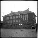 AO-86 Sint-Jobsweg met het gebouw van de rivierpolitie.